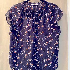 Petal sleeve blouse